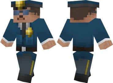 скины на майнкрафт полиция #3