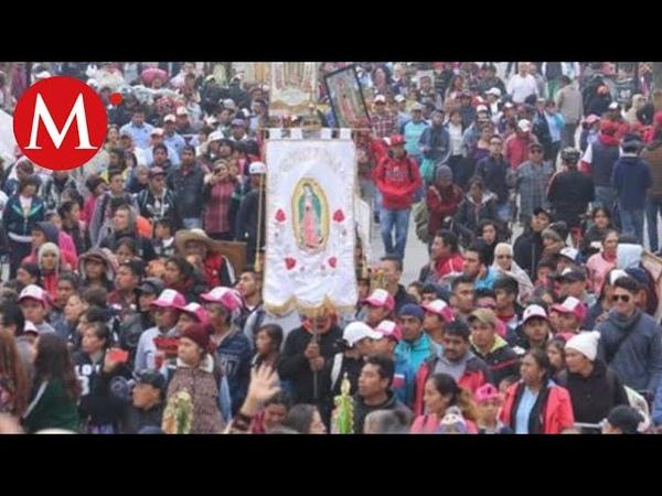 Basílica de Guadalupe amanece con 9 8 millones de peregrinos