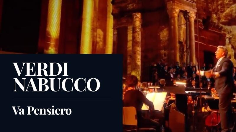 Giuseppe Verdi Nabucco Va Pensiero Live HD