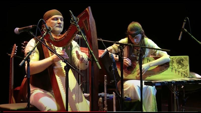 Alizbar Ann'Sannat Celtic harp Кельтская арфа Гусли Rainbow charm Радуга волшебства