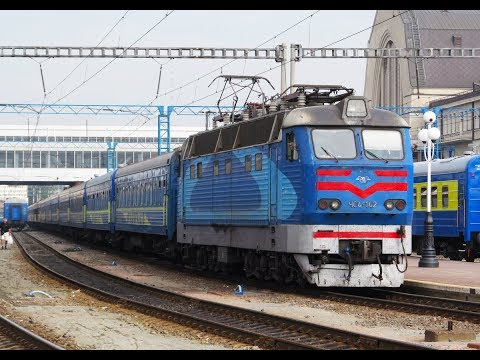 ZDSimulator cценарий пассажирского поезда №5 Украина Киев Москва часть 4