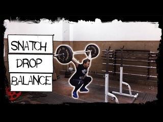 Уходы рывковые с плеч ║ Snatch balance