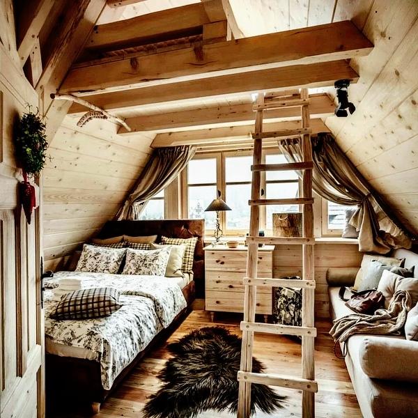 bedroom attics - 736×736