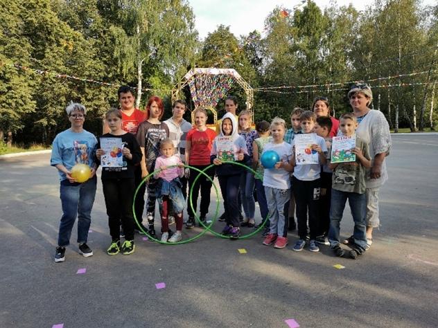 4 сентября - Спортивная эстафета для воспитанников Реабилитационного Центра Альбатрос., изображение №1