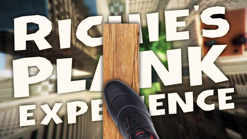 THE SCARIEST FUN Richies Plank Experience VR HTC Vive Virtual Reality
