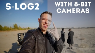 Colour grading LOG footage on 8-bit cameras | tips and workflow on S-Log2