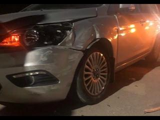 ДТП в Ельце - Водитель такси без водительских прав!