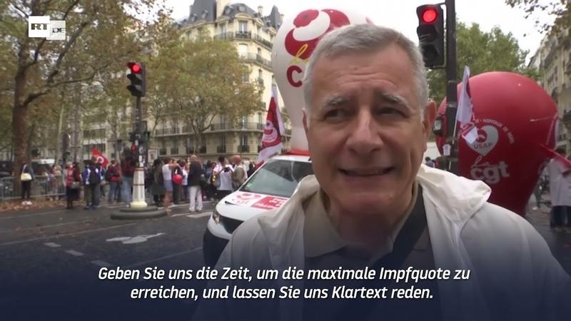 Vor 18 Monaten waren wir noch Helden Gesundheitspersonal protestiert in Paris gegen Suspendierung