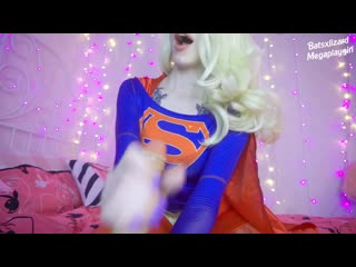 Supergirl trying to Save Town by Sucking Dick and Fucking Ass with Fingers 1080p