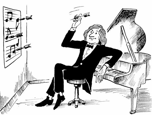 10 забавных историй о композиторах и музыкантах Визитка Бетховена О неуживчивом и угрюмом характере Людвига ван Бетховена ходили легенды. Бескомпромиссным и категоричным он был даже в обращении