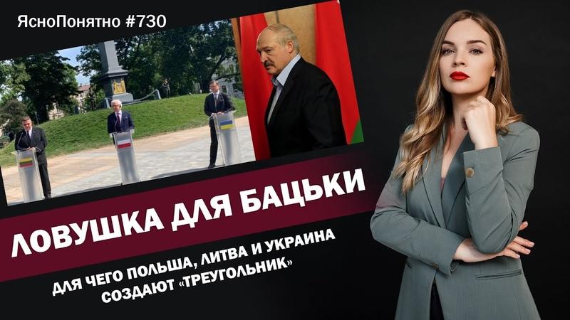 Ловушка для Бацьки. Для чего Польша, Литва и Украина создают «треугольник» | 730 by Олеся Медведева