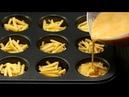 Naplňte muffinové formy vejcem a sýrem a během chvíle máte jedinečnou delikatesu Chutný TV