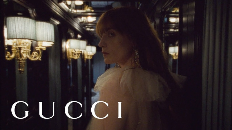 Florence Welch in the new Gucci High Jewelry collection Hortus Deliciarum