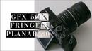 Обзор Fujifilm GFX 50R с переходником Fringer и обьективом Carl Zeiss Planar 80 2.0 от Contax 645 🔥
