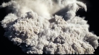 3ds Max Moutain Explosion PFlow and FumeFX Tutorial Pt. 5