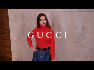 Новая коллекция Gucci // Женский осенний образ // Фирменный бутик в Лакшери Store // Тренды 2020