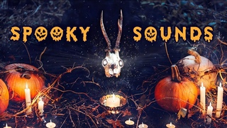 SPOOKY Halloween Ambience: scary halloween background sounds for trick or treat, reading, party