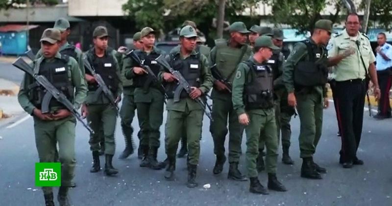 Армия Венесуэлы взяла под охрану энергосистему страны