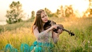 Красивая скрипка. Lara Fabian - Je T`aime cover violin Stacie