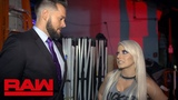 Mike Rome apologizes to Alexa Bliss Raw Exclusive, July 16, 2018