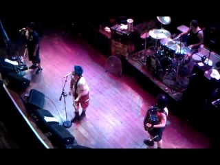 NOFX Fat Mike falls off stage (Chicago 10/14/2011)