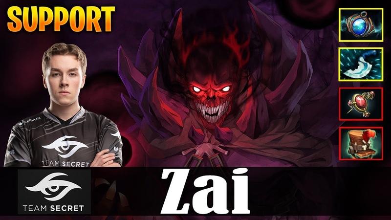 Zai - Shadow Demon Safelane   SUPPORT   Dota 2 Pro MMR Gameplay
