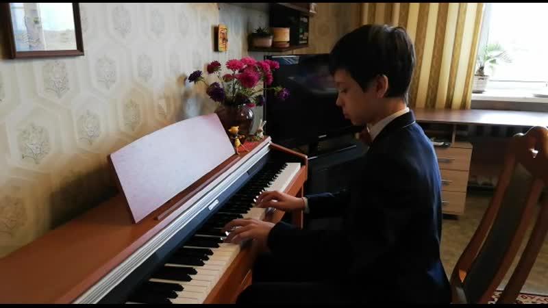 Палавичини Индейское лето Исполняет Блохин Фёдор Фортепиано не основной инструмент а предмет по выбору Преподаватель Свир