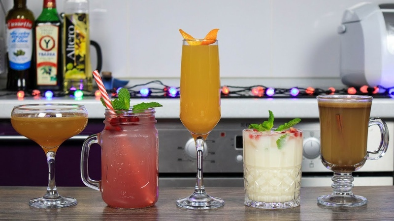 Топ 5 НОВОГОДНИХ КОКТЕЙЛЕЙ | Top 5 Christmas Cocktails