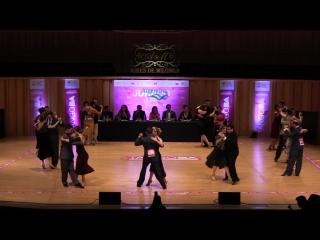 Final tango adulto, campeonato de baile de la ciudad 2018, buenos aires