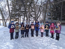 Популяцию птиц зимой сохраняют школьники