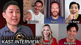 Interviewing The Mortal Kombat (2021) Movie KAST!! (Joe Taslim, Ludi Lin , Max Huang & MORE)