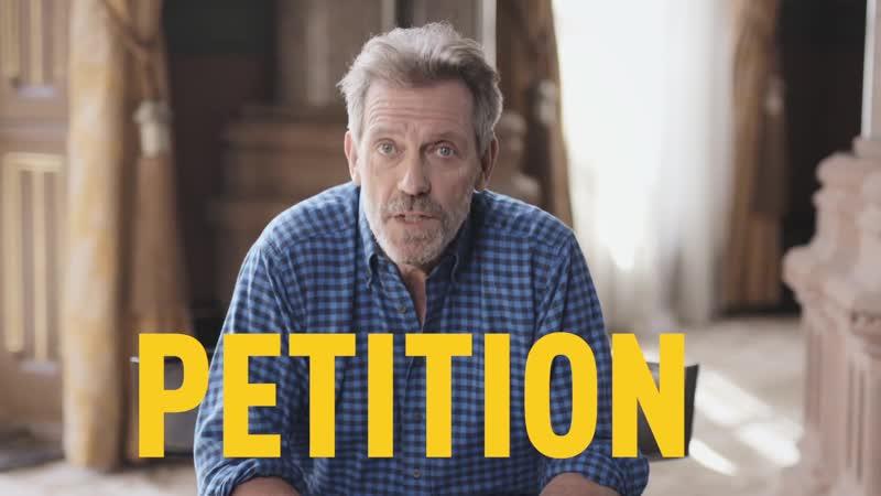 Hugh Laurie and Peter Capaldi in anti-malaria campaign