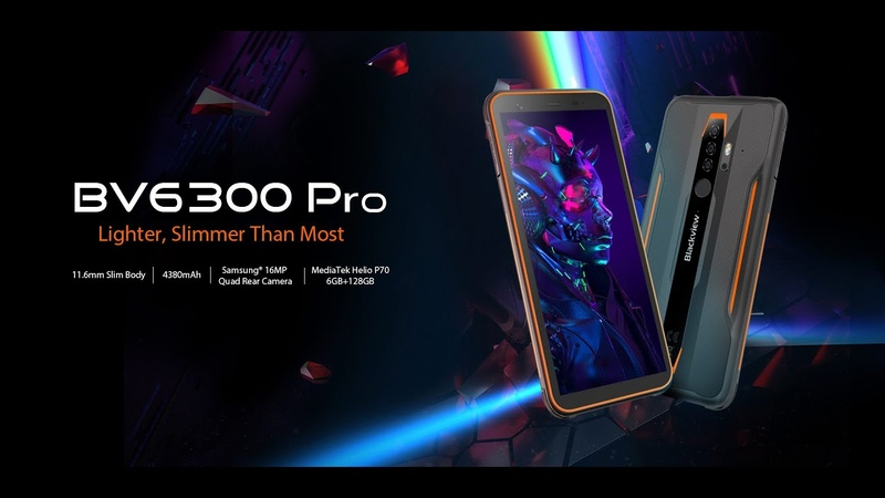 Introducing Blackview BV6300 Pro World s Thinnest Rugged Outdoor Smartphone