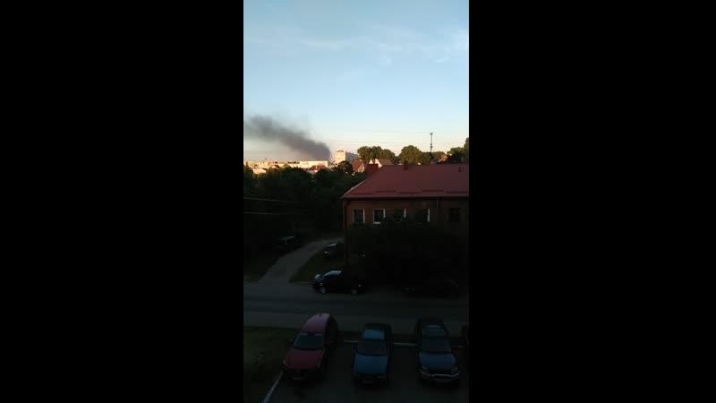 Балтрайон черный дым 13 08 2020 19 40