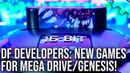 DF Developers Brand New Mega Drive Genesis Games With Bitmap Bureau and Big Evil Corp Sponsored