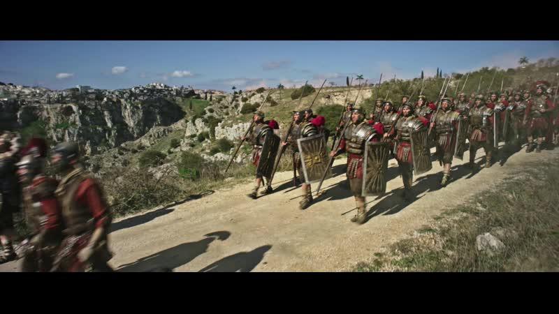 Бен Гур 2016 Римская армия входит в Иерусалим