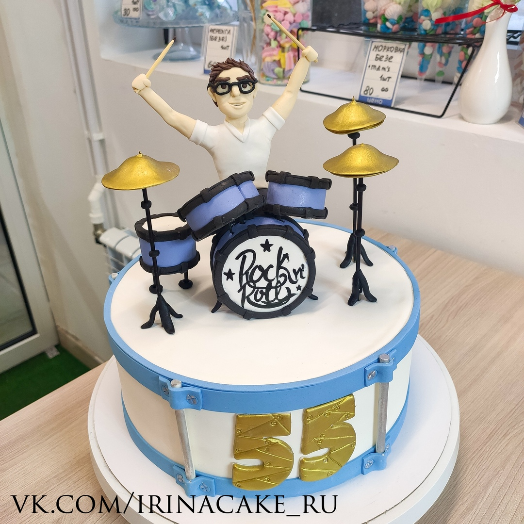 Торт с барабанщиком (Арт. 628)