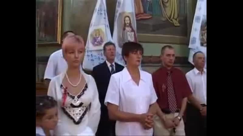Смотри с 40сек Явление в Храме Село Грибовичи Львовская область 2008™