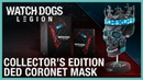 Watch Dogs Legion Collector's Edition Ded Coronet Mask Ubisoft NA