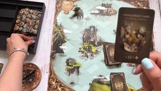 Обзор настольной игры Магическая Карта (Carta Magica) Marbushka