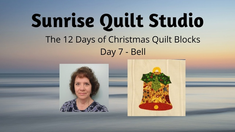 Bell - The 12 Days of Christmas Quilt Blocks - Day 7
