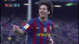 Season 2009/2010. FC Barcelona - Real Valladolid CF - 4:0 (highlights)