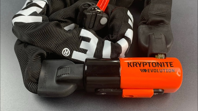 868 Why I Use This Lock On My Bicycle Kryptonite Evolution Chain Lock Series 4