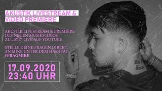 Akustik Livestream & Video Premiere mit Mike Singer