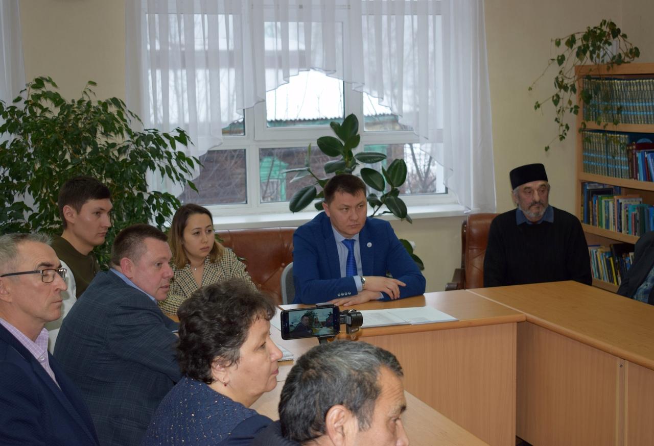Заседание совета Семинар Тара Андрей Худолеев Татары РТНКА Маданият