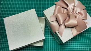 Как сделать коробку? Подарочная коробка своими руками 🎁. Легко и просто.