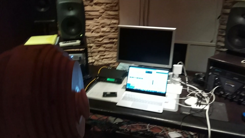 DSONIQ Reaplhones Бинауральный микрофон в студии Александра Скоробогатова Москва