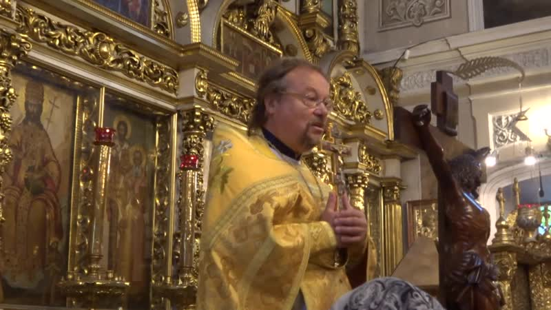 Воскрешение сына наинской вдовы прот Геннадий Героев