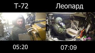 Автомат танка Т-72 против заряжающего на Абрамсе, Леопарде и т.д. Кто быстрее?