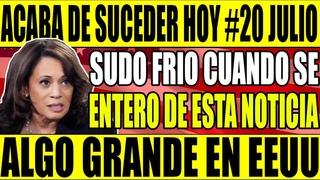 🔴 NOTICIAS HOY EEUU JULIO 2021 SUDO FRIO CUANDO SE ENTERO NO SE ESPERABAN ESTO NOTICIA HOY EN EEUU